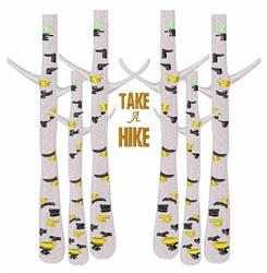 Take A Hike embroidery design