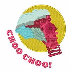 Choo Choo embroidery design