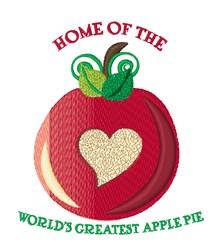 Apple Pie embroidery design