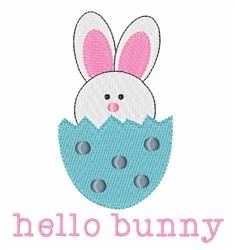 Hello Bunny embroidery design