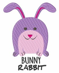 Bunny Rabbit embroidery design
