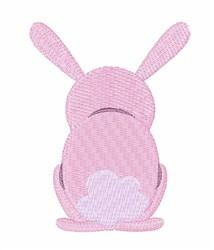 Bunny Rear embroidery design