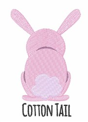 Cotton Tail embroidery design
