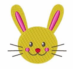 Bunny Face embroidery design