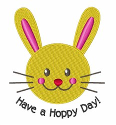 A Hoppy Day embroidery design