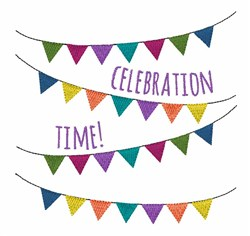 Celebration Time embroidery design