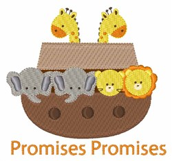 Promises Promises embroidery design