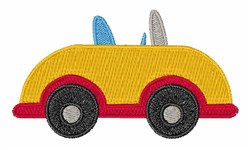 Little Car embroidery design