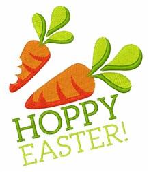 Hoppy Easter embroidery design