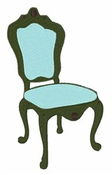 Elegant Chair embroidery design