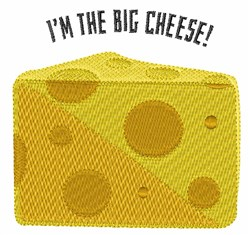 Big Cheese embroidery design