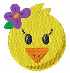 Pretty Chick embroidery design