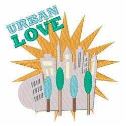 Urban Love embroidery design