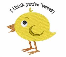 Youre Tweet embroidery design