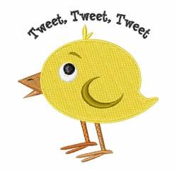 Tweet Tweet embroidery design