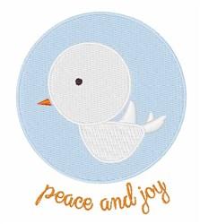 Peace & Joy embroidery design