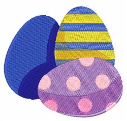 Easter Eggs embroidery design