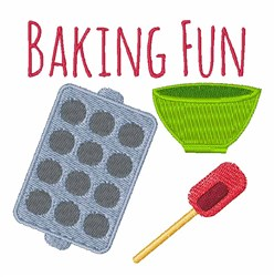 Baking Fun embroidery design