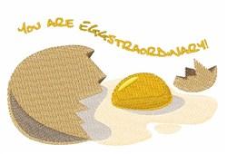 Eggstraordinary embroidery design