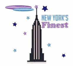New Yorks Finest embroidery design
