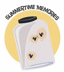 Summertime Memories embroidery design