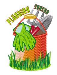 Planting Season embroidery design