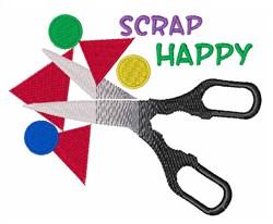 Scrap Happy embroidery design