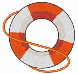 Life Preserver embroidery design