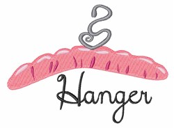 Hanger embroidery design