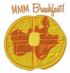 MMM Breakfast embroidery design