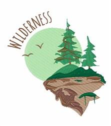 Wilderness  embroidery design