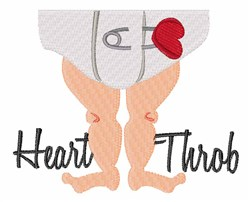 Heart Throb embroidery design