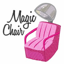 Magic Chair embroidery design