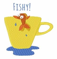 Fishy! embroidery design