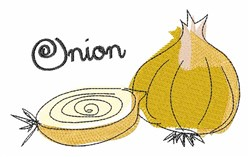 Sketch Onion embroidery design