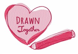 Drawn Together embroidery design