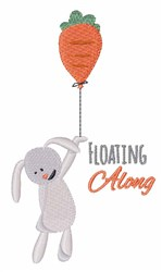 Floating Along embroidery design