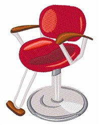 Salon Chair embroidery design