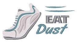 Eat Dust embroidery design