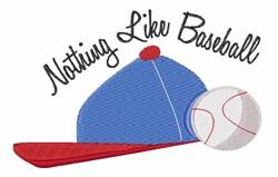 Like Baseball embroidery design