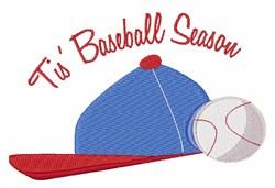 Baseball Season embroidery design