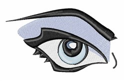 Womans Eye embroidery design