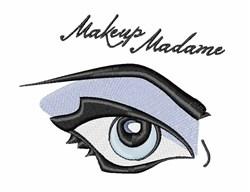 Makeup Madame embroidery design
