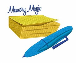 Memory Magic embroidery design