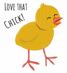 Love That Chick embroidery design