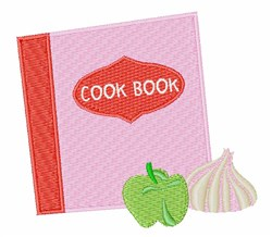 Cook Book embroidery design