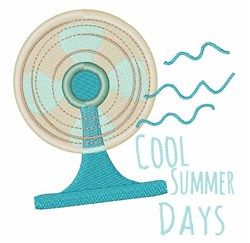Cool Summer Days embroidery design