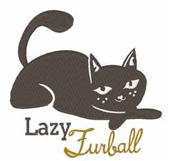 Lazy Furball embroidery design