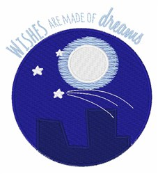 Wishes Made Of Dreams embroidery design