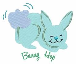 Bunny Hop embroidery design